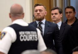 McGregor se presenta en la corte por caso de trifulca