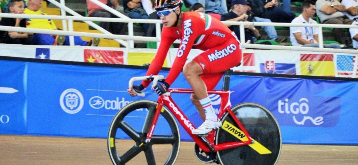 Histórico oro para México en ciclismo por puntos