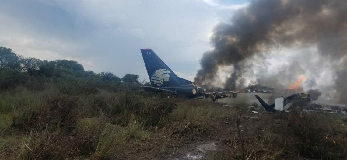 Ráfaga de viento habría causado accidente de avión