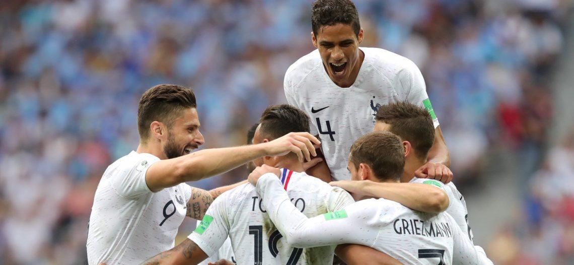 Francia elimina a Uruguay y va a semis