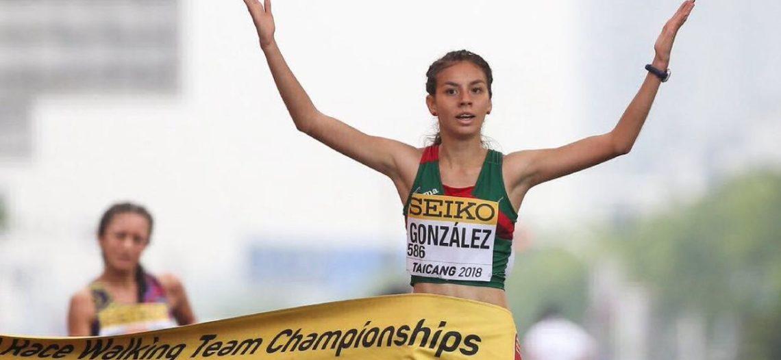 Alegna González consigue histórico oro para México en marcha