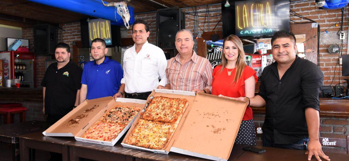 Harán Pizza Fest en Víactiva próximo domingo