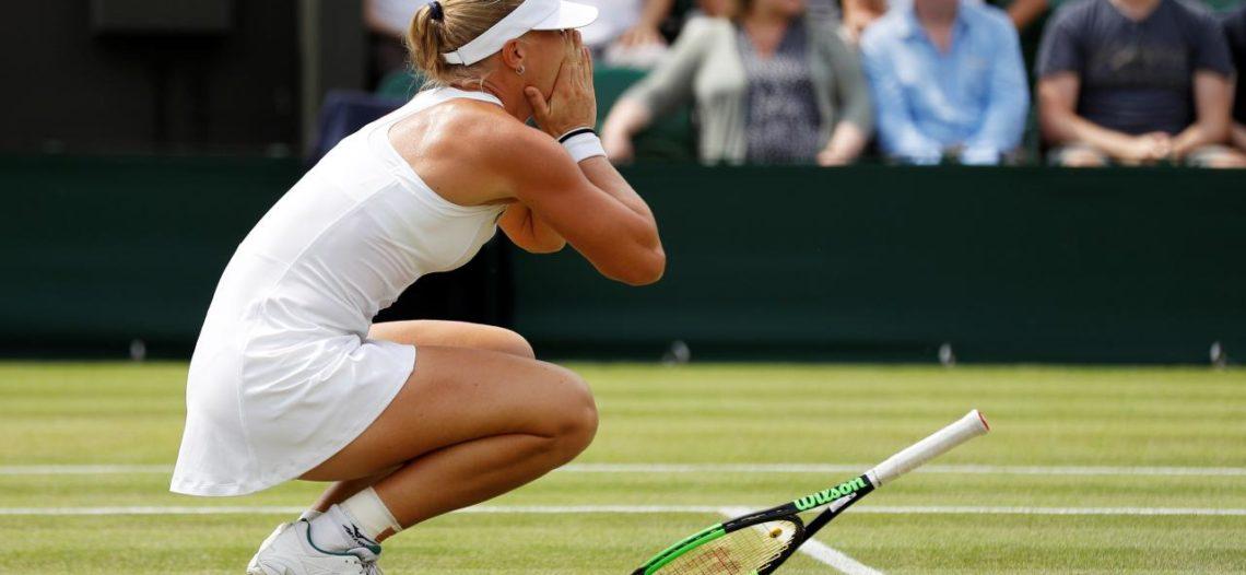 Wimbledon se queda sin Top 10 femenil