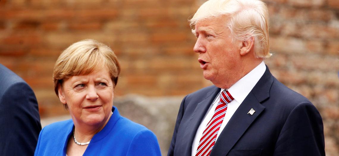 Trump y Merkel presumen 'muy buena relación'