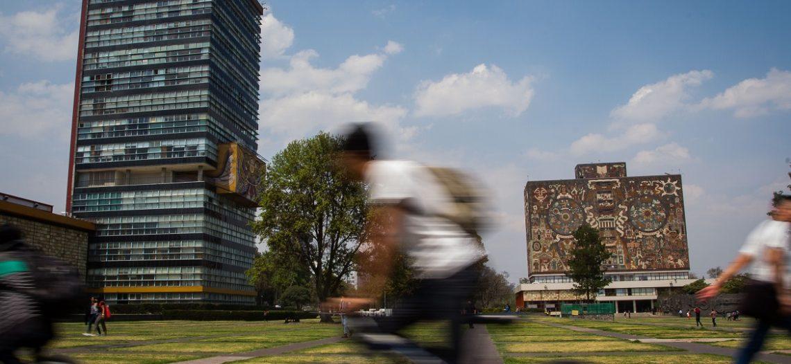 Regresan a clases este lunes más de 350 mil alumnos en la UNAM