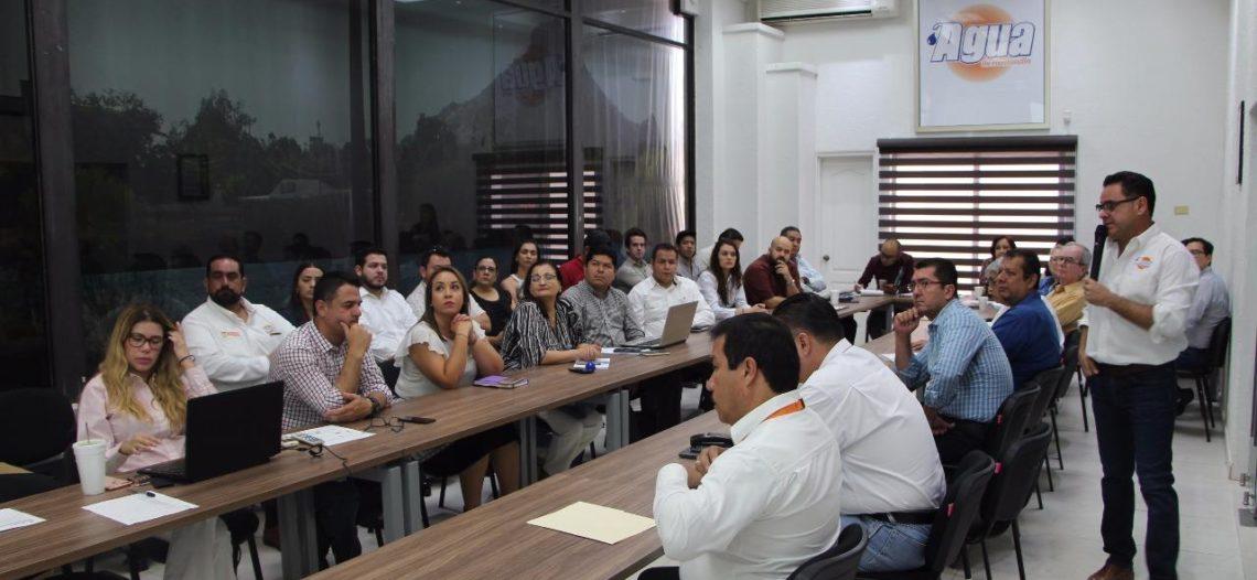 Reciben en DIF y Agua de Hermosillo a equipo de transición