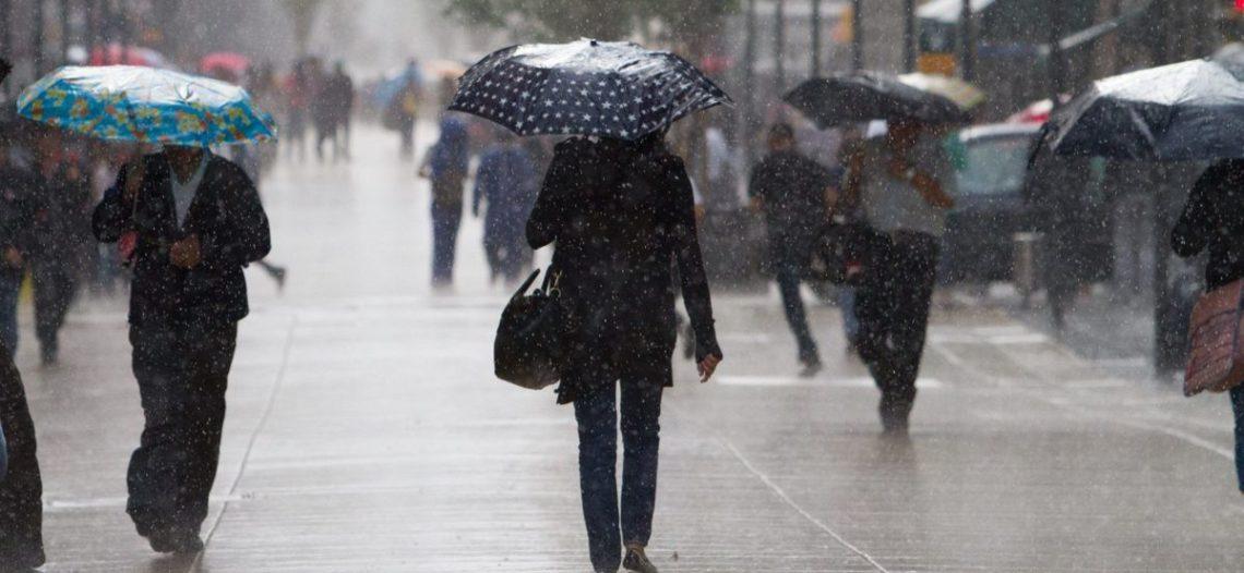 Fin de semana lluvioso en gran parte del país