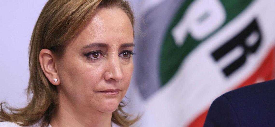 Ruiz Massieu se registra para buscar presidencia del PRI por un año más
