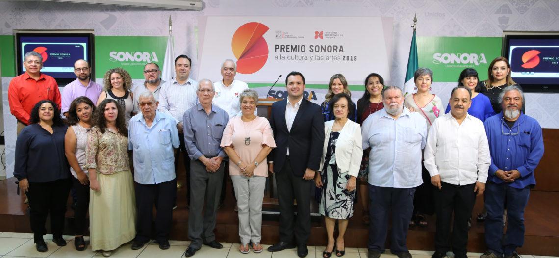 Abre ISC convocatoria para el Premio Sonora a la Cultura y las Artes 2018
