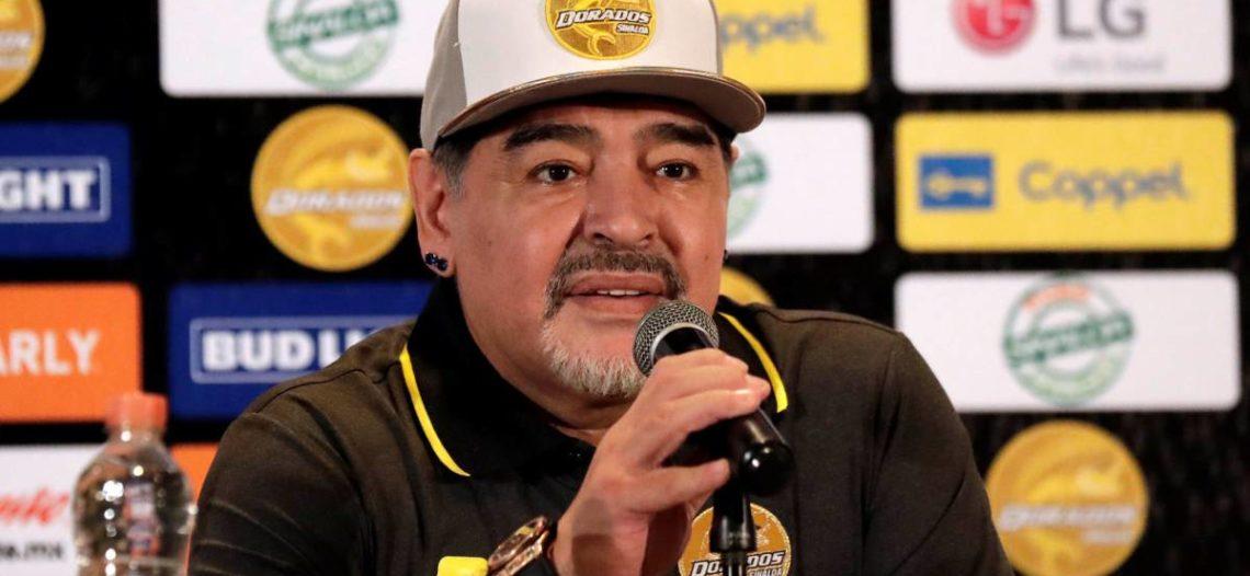 No vengo de vacaciones a Dorados, dice Maradona