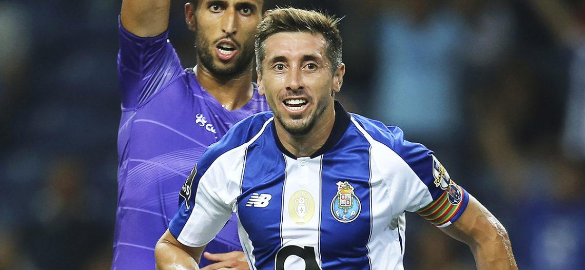 Gol de Héctor Herrera en goleada del Porto