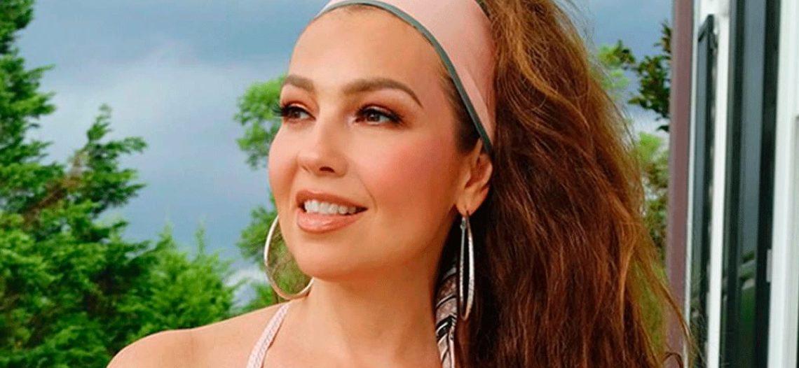 Thalía lanza el inesperado sencillo 'Me oyen, me escuchan'