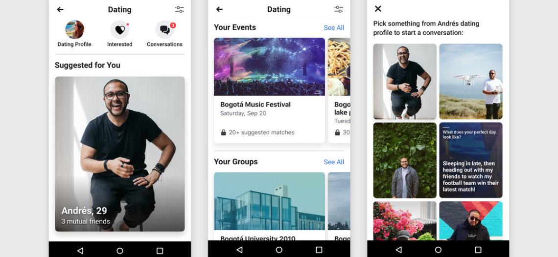 Facebook inicia pruebas de su aplicación para encontrar pareja