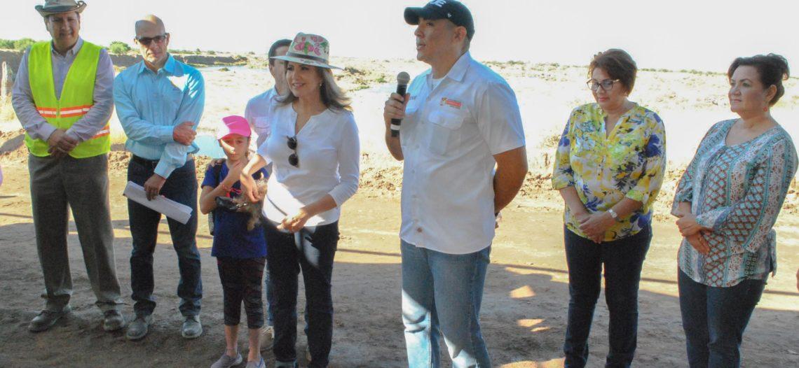 Presidenta Municipal presenta avances de la primera etapa del Parque Metropolitano