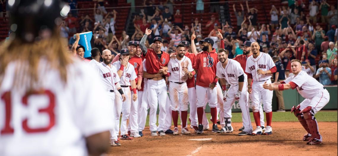 Medias Rojas, primer invitado a la postemporada de la MLB