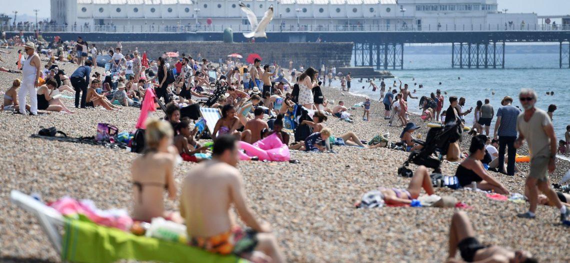 Viven el verano más caluroso en Reino Unido