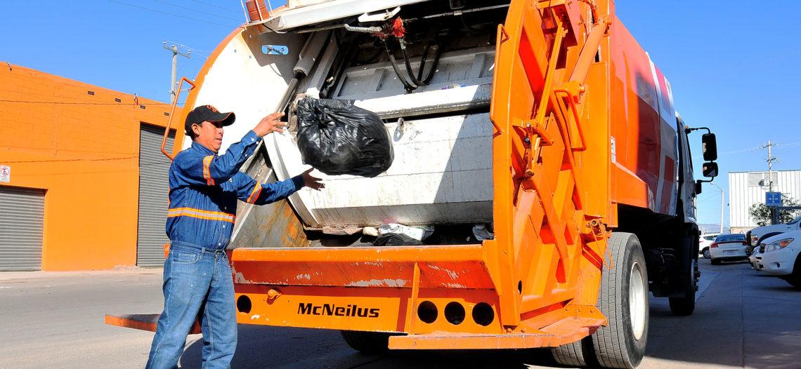 Continúa trabajo intensivo para normalizar recolección de basura