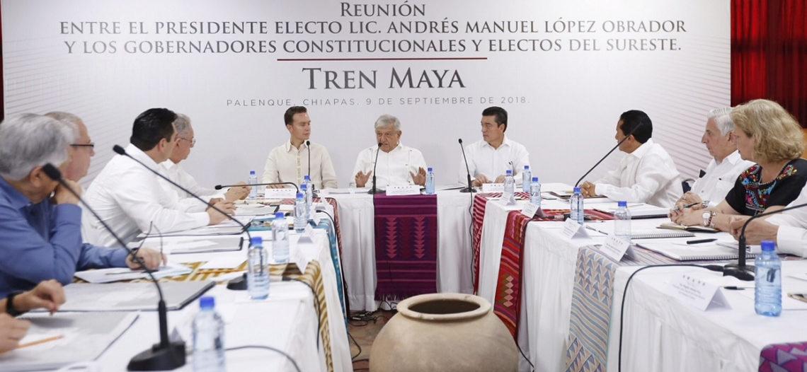 Construcción del Tren Maya no afectará la ecología: AMLO