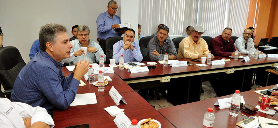 Atiende Sidur peticiones de Alcaldes del Río Sonora