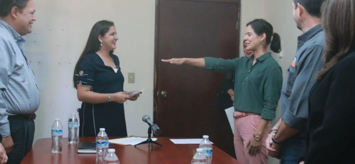 Toma protesta nueva directora de Alumbrado Público