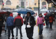Frente frío y ciclón 'Tara' provocarán tormentas en casi todo el país