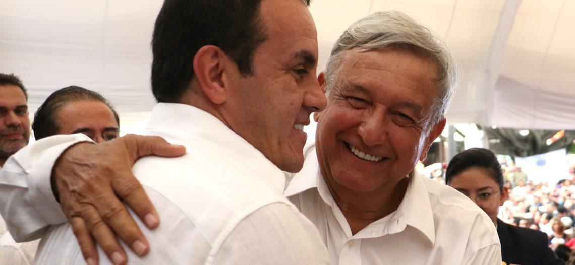 Respaldo de manera absoluta a Cuauhtémoc Blanco: AMLO