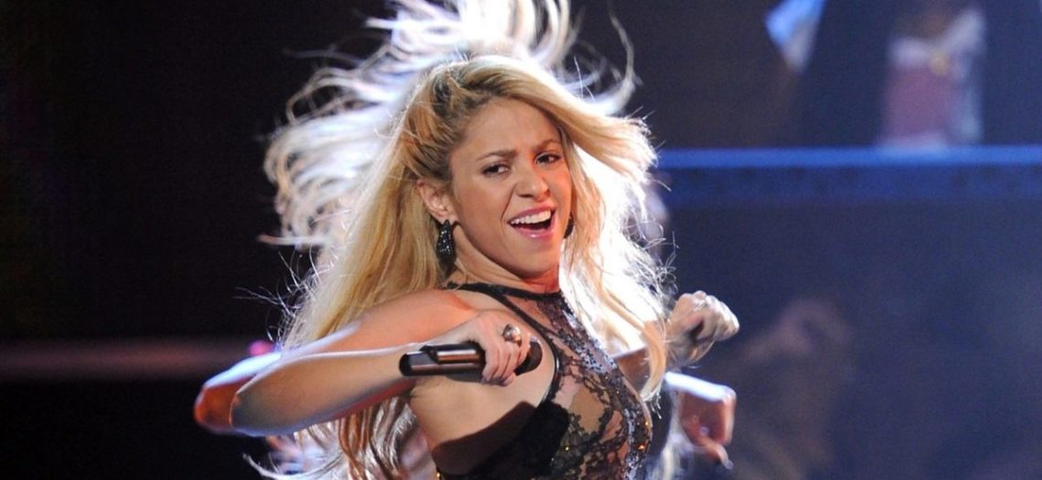 Shakira prueba chapulines
