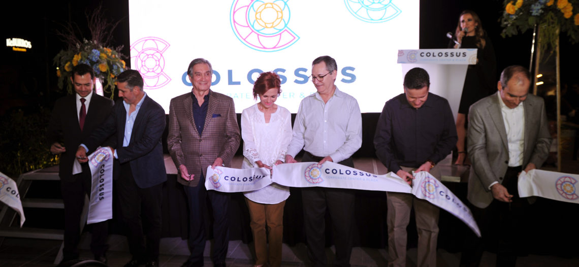 """Apertura de """"Colossus"""" muestra de crecimiento: Secretario de Economía"""