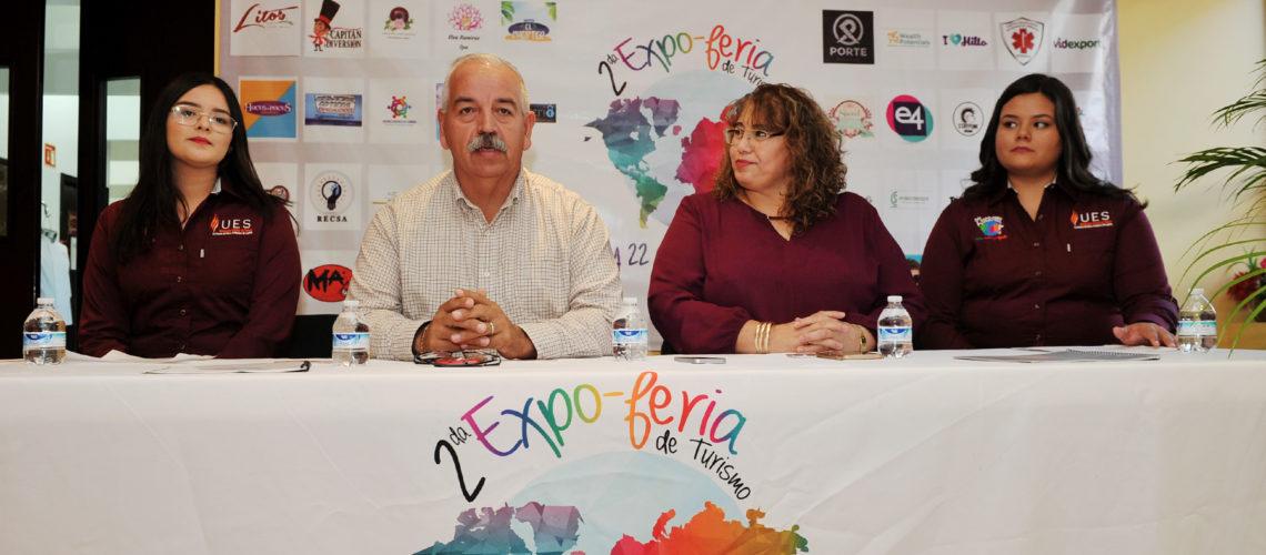 Anuncian segunda Expo-Feria de Turismo UES