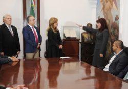 Toma protesta Gobernadora a nueva fiscal general de Justicia