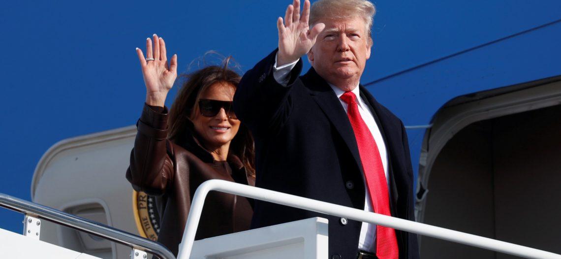 Trump llega a Buenos Aires para la cumbre del G20