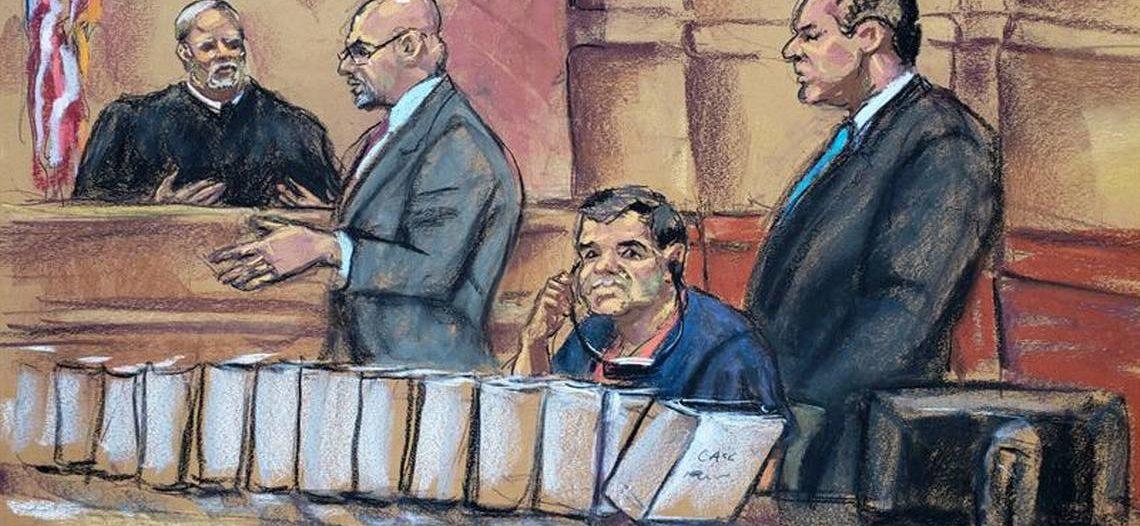 Inicia juicio contra 'El Chapo'; durará cuatro meses