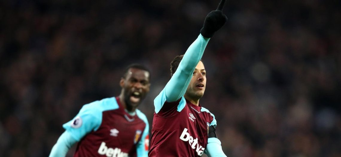 'Chicharito' de regreso, doblete y goleada del West Ham