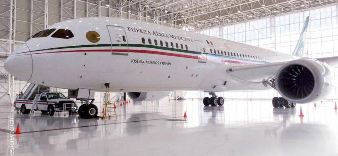 Parte avión presidencial a California; inicia proceso de venta