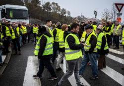 En Bélgica también marchan los 'chalecos amarillos'