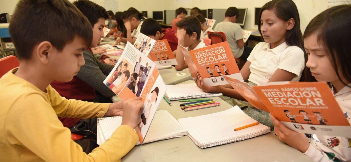 Concluye plan piloto de Mediación Escolar