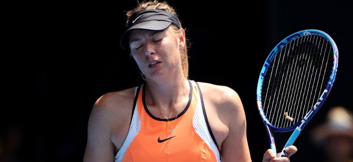 Sharapova se retira por lesión de torneo en China