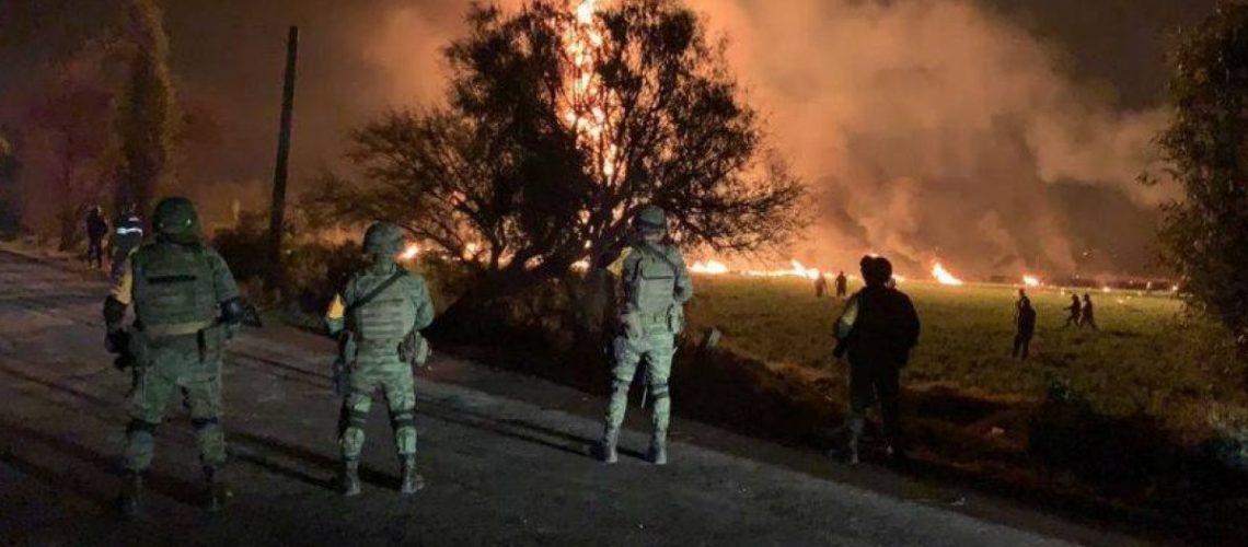 El mundo lamenta la tragedia en Tlahuelilpan