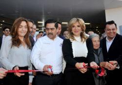 Inaugura Gobernadora moderno Centro de Atención a la Salud de Isssteson