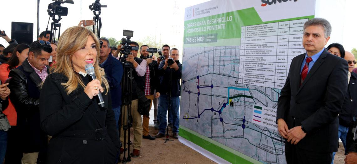 Entrega Gobernadora prolongación del bulevar Las Quintas