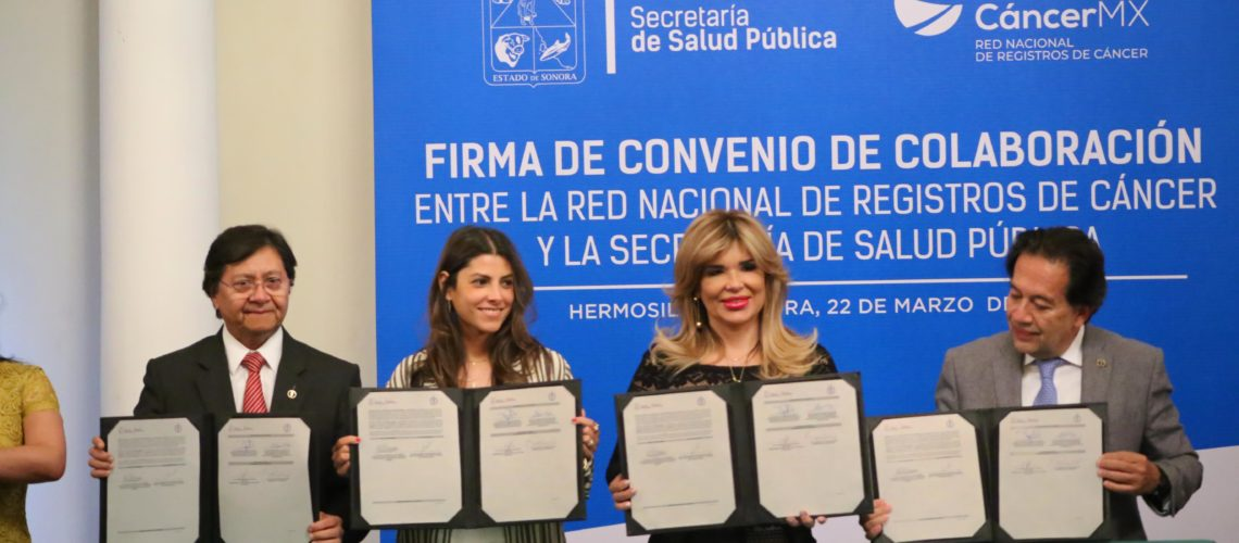 Se suma Hermosillo a la Red Nacional de Registros de Cáncer