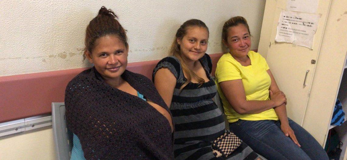 Atiende Salud Sonora a embarazadas de caravana migrante