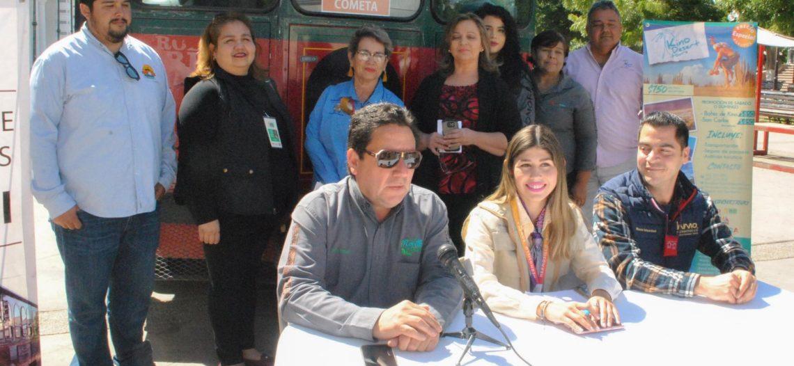 Abren módulos de información sobre Tours en Hermosillo