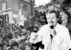 25 años del asesinato de Luis Donaldo Colosio