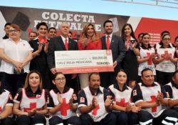 Llama Gobernadora a solidarizarse con la Cruz Roja