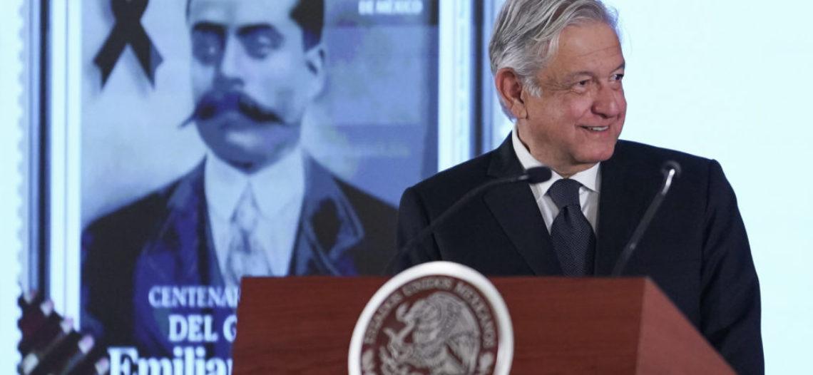 Este es el nuevo timbre postal que lleva la imagen de Zapata
