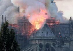 Secretario de ONU horrorizado por incendio en Notre Dame