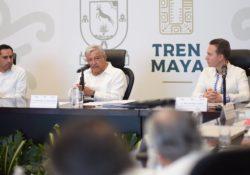 Inversionistas de EU tienen interés en Tren Maya: AMLO