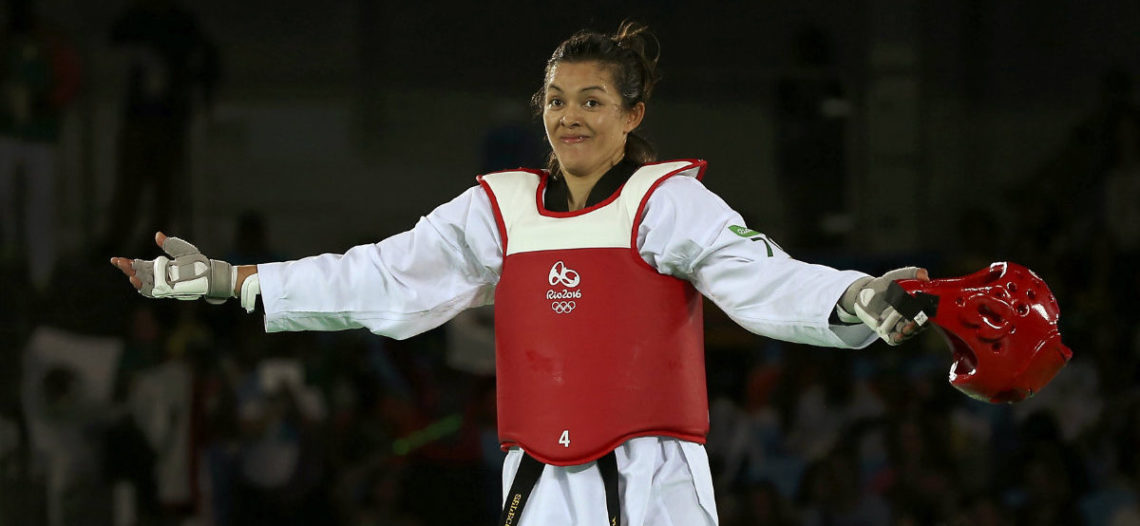 María Espinoza se cuelga plata en el Mundial de Taekwondo