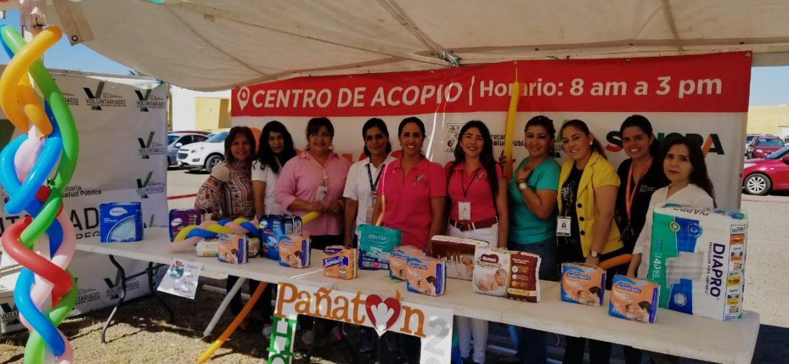 Exitoso inicio del tradicional Pañatón del Voluntariado de Salud de Sonora